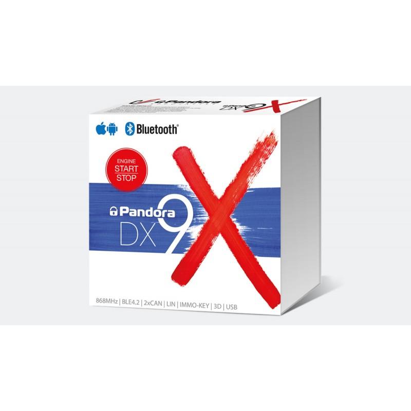 Противоугонное устройство Pandora DX-9X BT 2CAN-LIN