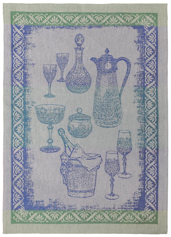 Полотенце кухонное Белорусский лен 17с102/Посуда-1/голубой, голубой17с102/Посуда-1/голубойСостав: 45 % хлопок 55 % лен,