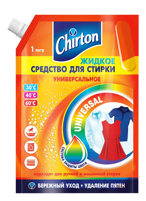жидкое средство для стирки chirton универсальное 1 325л Жидкое средство для стирки Chirton ch-236, оранжевый, 1.039