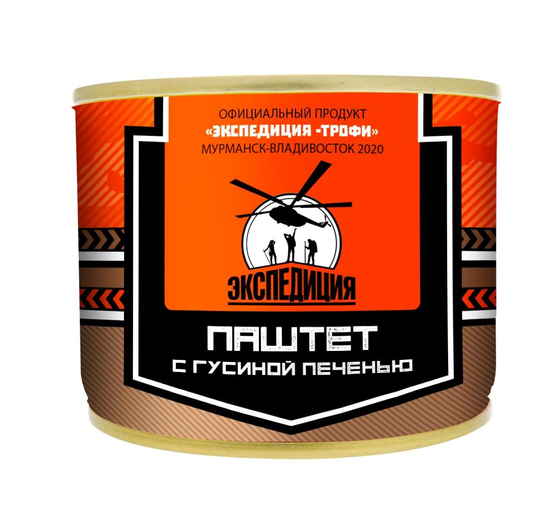 Мясные консервы ЭКСПЕДИЦИЯ EXP-CON08, 180