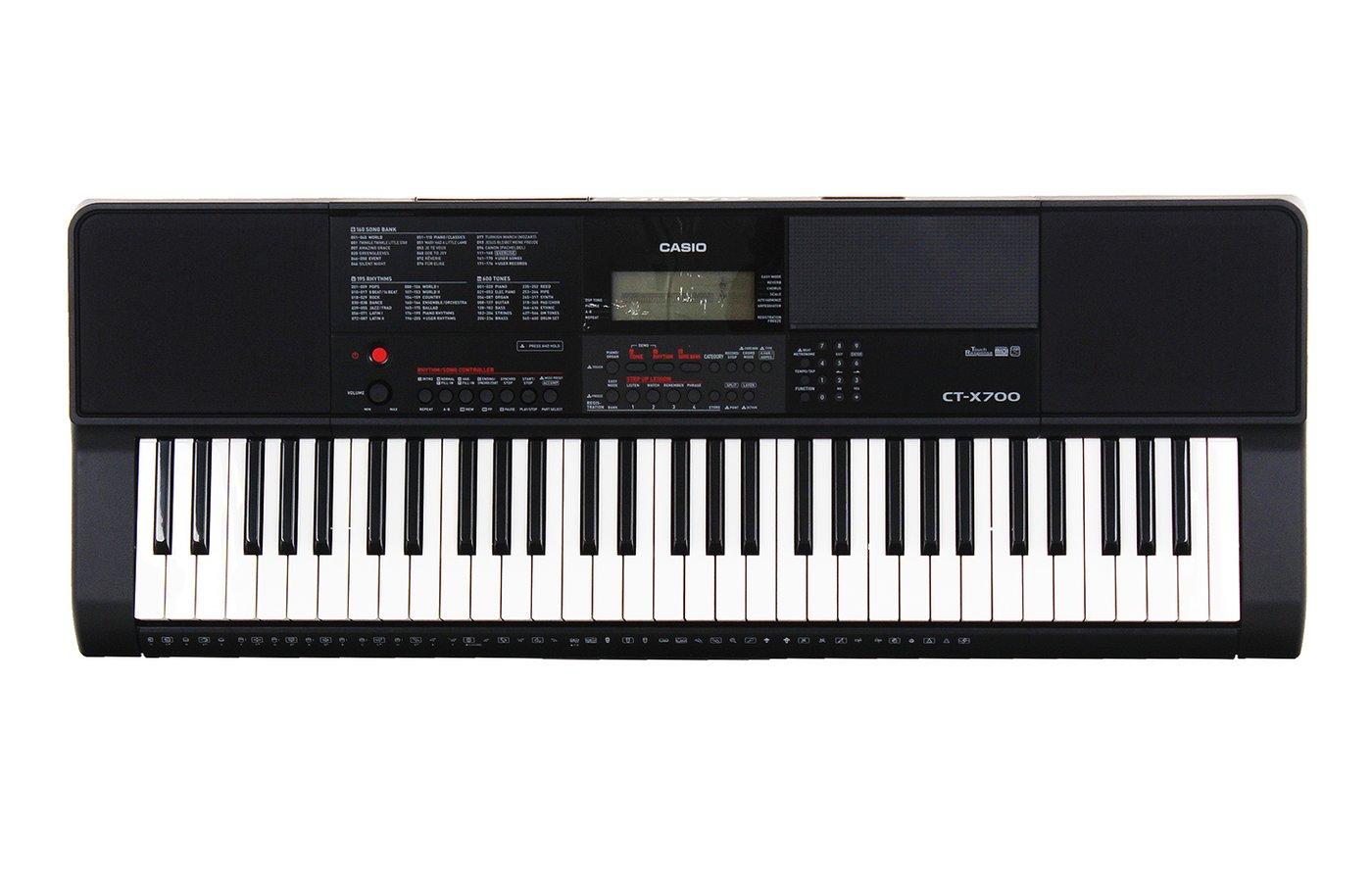 все цены на Цифровой синтезатор Casio CT-X700, черный онлайн