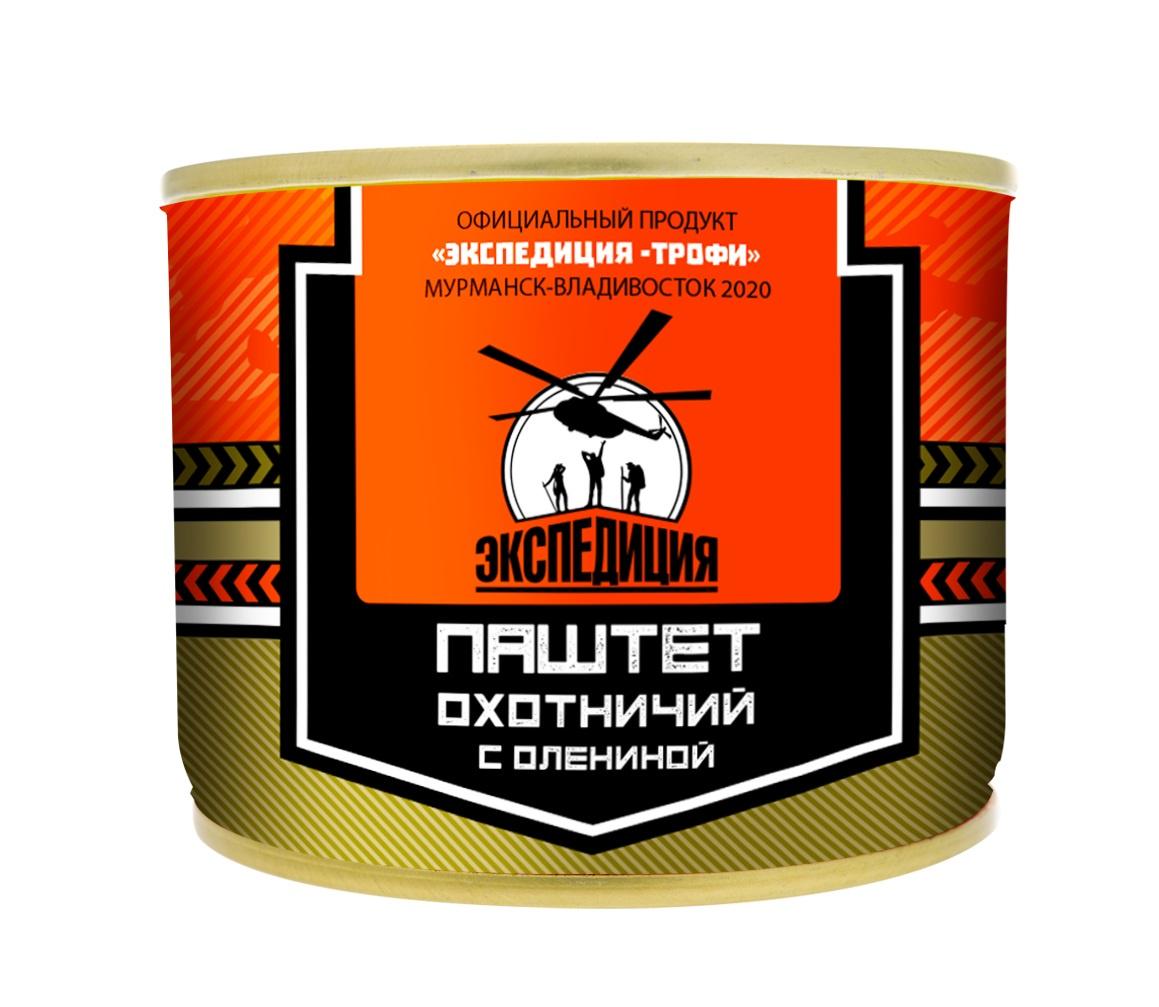 Мясные консервы ЭКСПЕДИЦИЯ EXP-CON07, 180