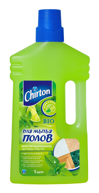 Средство для ухода за мебелью и полом Chirton ch-250, зеленый, 1.068 бытовая химия chirton средство для мытья полов лаванда