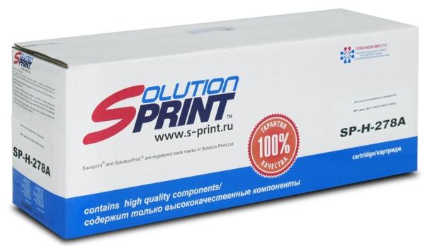лучшая цена Тонер-картридж Solution Print SP-H-278 (Canon 728/CE278A)