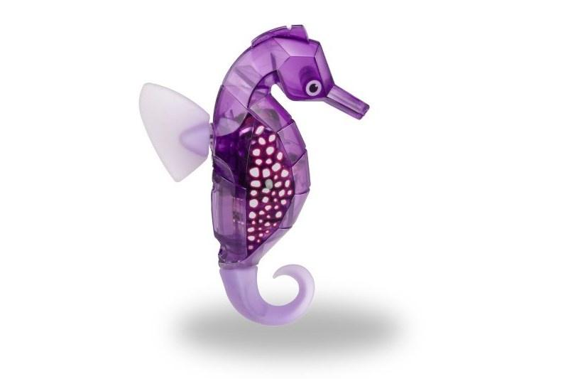 Игрушка для ванной Hexbug Морской конек-робот 460-4088 фиолетовый