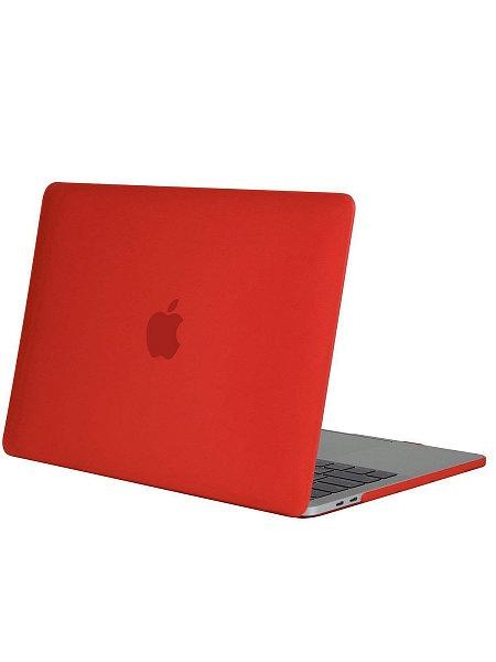 Чехол для ноутбука UVOO Candy для Apple Macbook Pro 13 Retina (2017), красный чехол накладка incase hardshell case dots для ноутбука macbook pro 13 with thunderbolt 3 usb c м