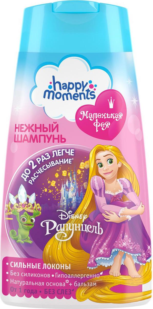 Маленькая Фея Детский шампунь Сильные локоны 240 мл блеск для губ детский карамельный десерт маленькая фея happy moments