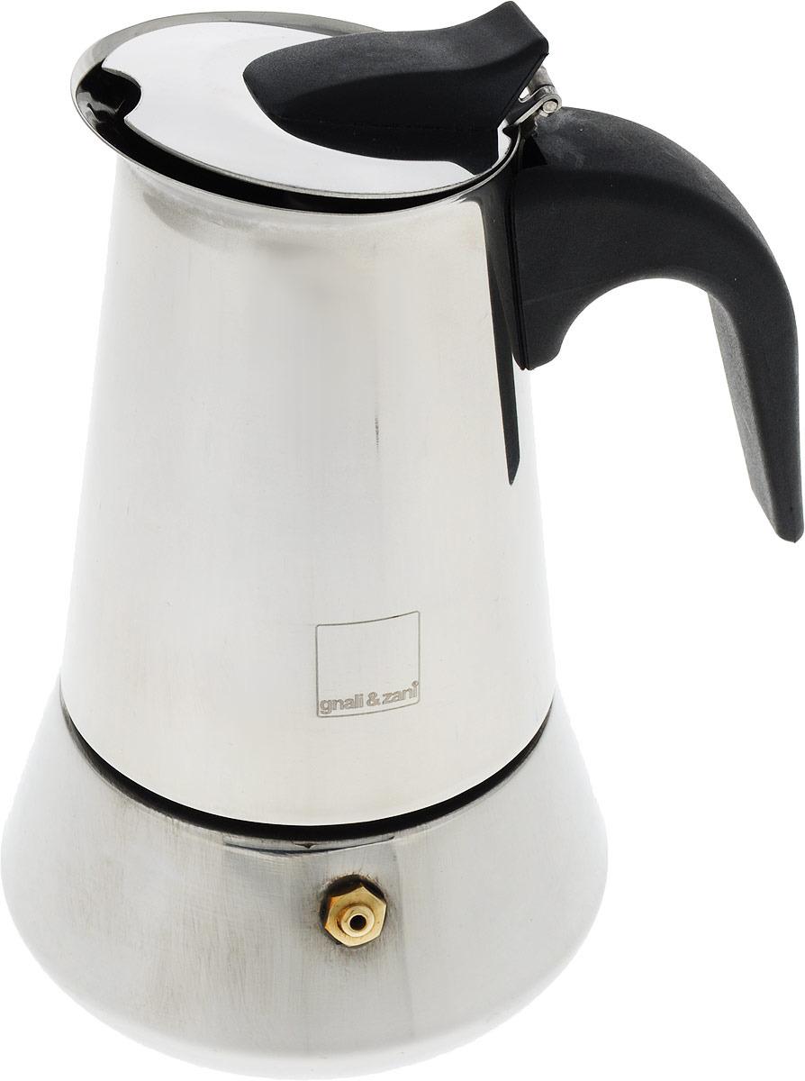 лучшая цена Кофеварка гейзерная Gutenberg Inox, EXP004, серый металлик, на 4 чашки