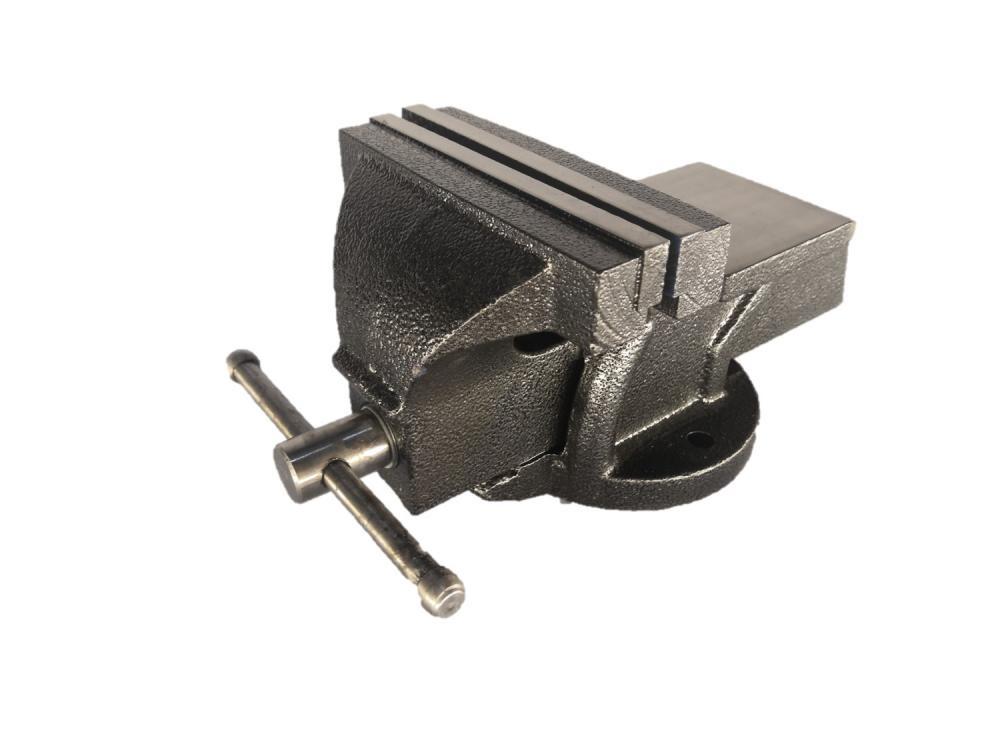 Тиски Zitrek BV-100 слесарные тиски с ручным приводом wedo тсч 100