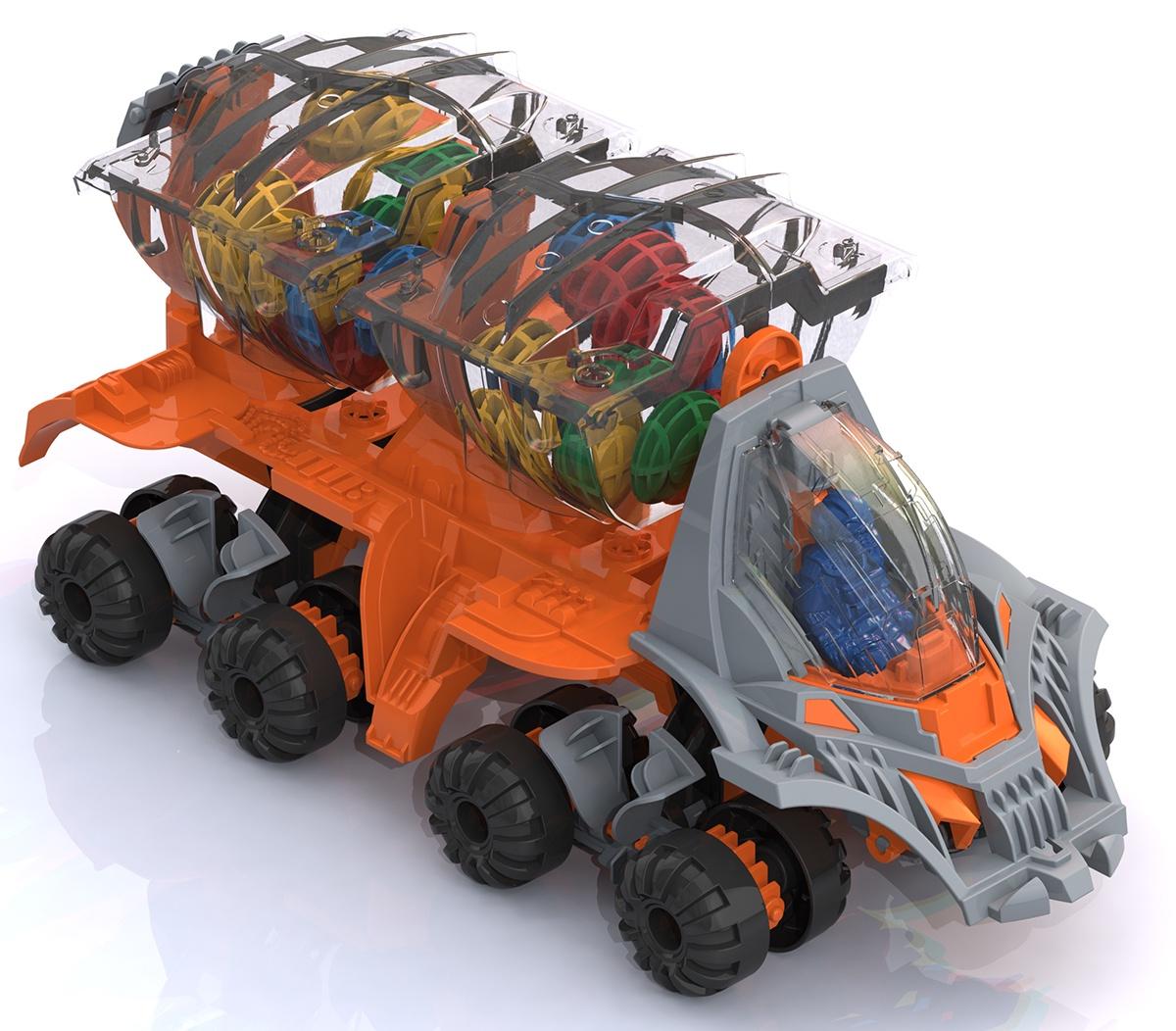 Машинка Нордпласт 296-1/_оранжевый оранжевый296-1/_оранжевыйМашина полностью готова для серьезных работ на других планетах. Подвеска создана и адаптирована для посадки и перемещения по любым поверхностям без потери сцепления, а крылья с изменяющимся углом наклона позволяют контролировать перемещение в любом типе атмосферы. Два пилота размещаются в зеркальном положении и полностью контролируют периметр через прозрачную дверь кабины. Каждому из них обеспечена возможность индивидуальной эвакуации. Ассистент пилота дополнительно обеспечивает сохранность груза — грузовой отсек имеет отдельный люк.