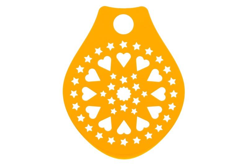 Трафарет для выпечки Elan Gallery 120125, оранжевый трафарет birdie