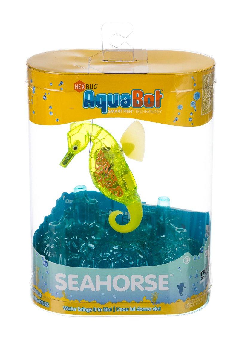 Игрушка для ванной Hexbug Морской конек-робот 460-4088 желтый
