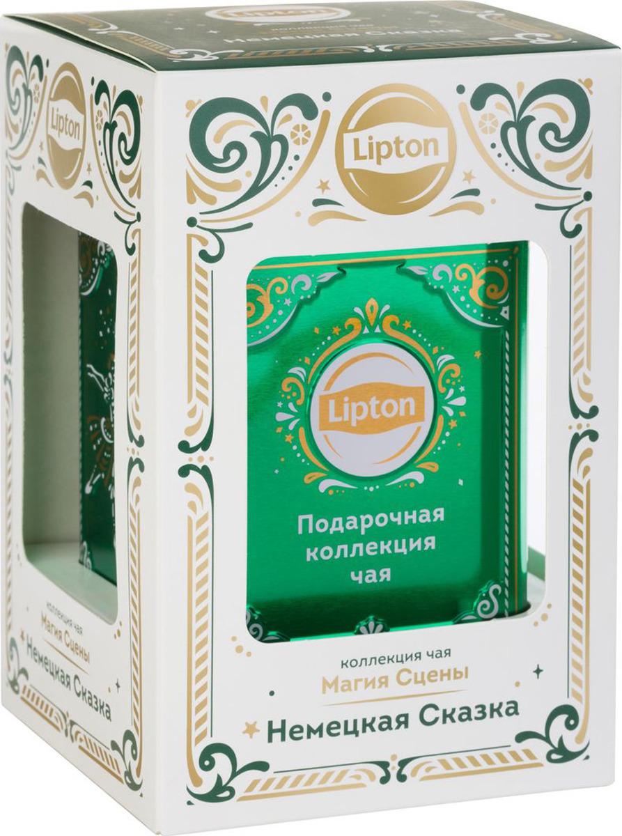 Подарочный набор черного листового чая Lipton Магия сцены. Немецкая сказка, 30 г maitre восточная сказка набор черного листового чая 60 г