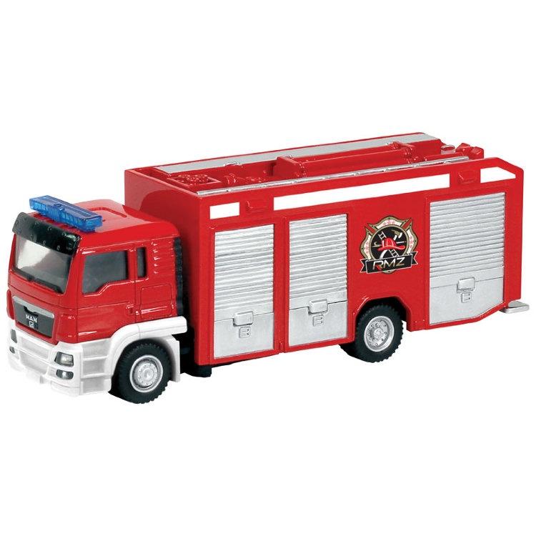 Машинка-игрушка Krutti Пожарная машина в благов пожарная машина книжка игрушка