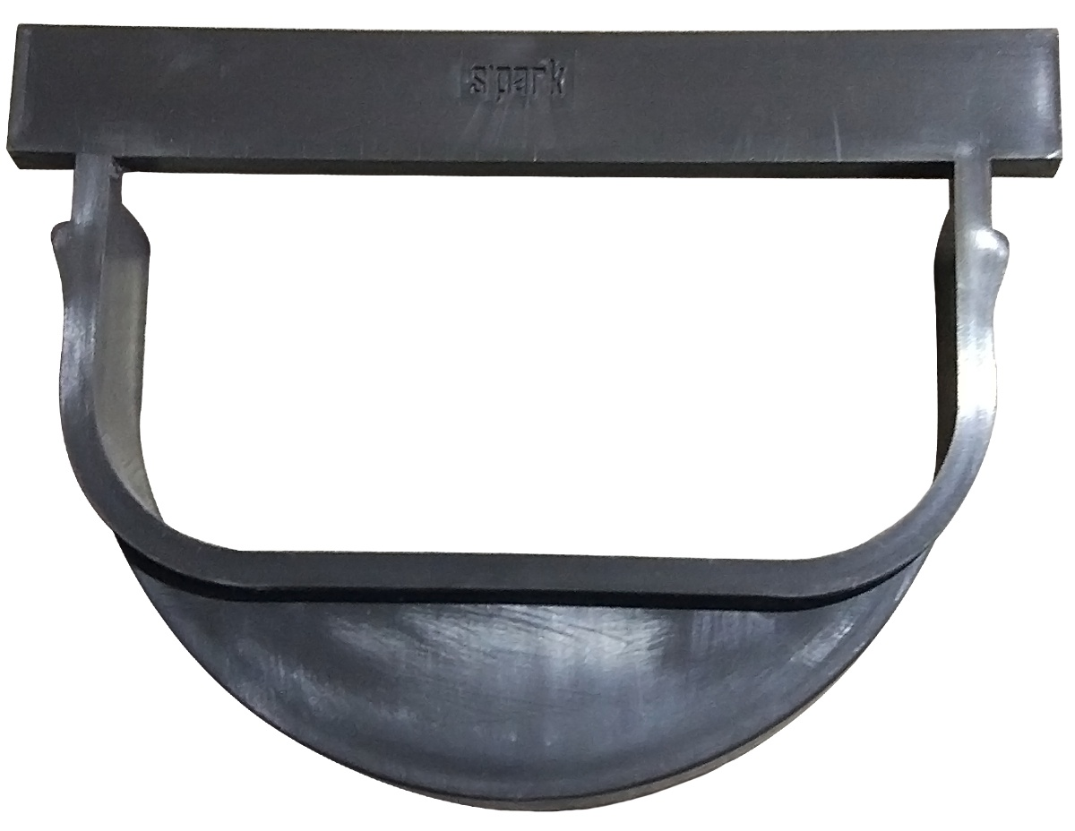Аксессуар для водоотводного лотка Standartpark 6828, черный