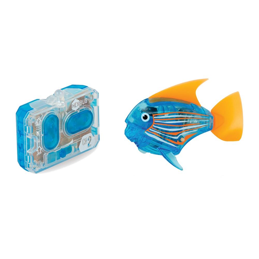 Робот на радиоуправлении HEXBUG Радиоуправляемая рыбка 460-4086 синий