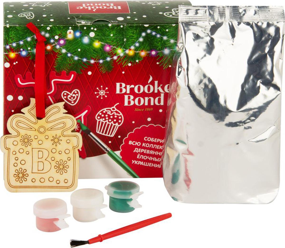 Brooke Bond чай елочное украшение с красками, 90 г недорго, оригинальная цена
