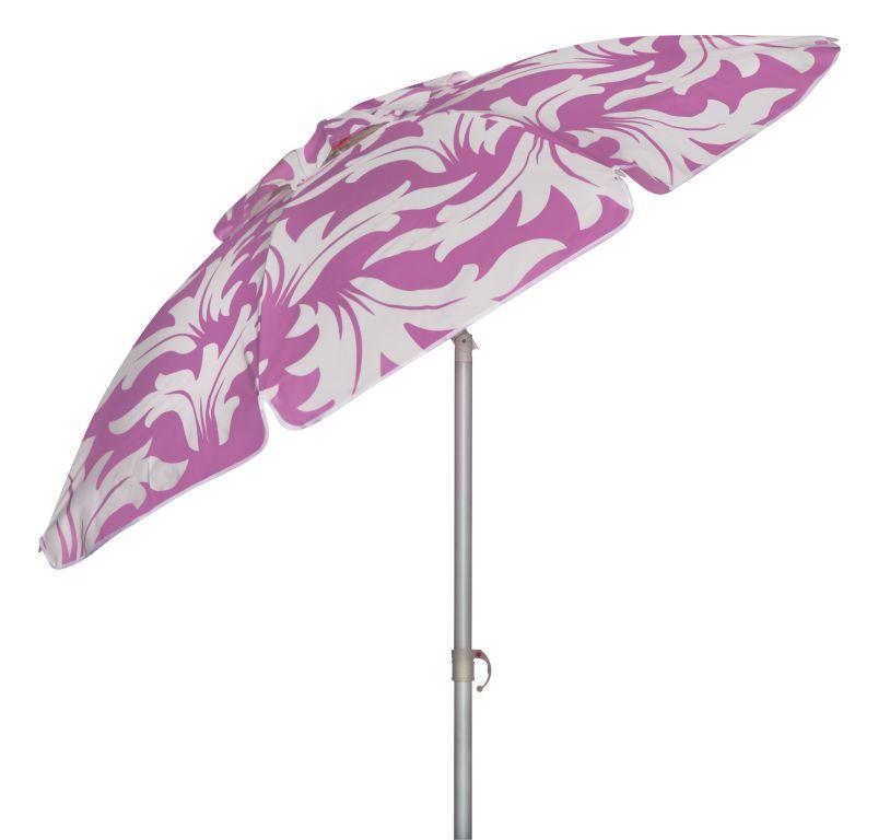 Пляжный зонт Doppler ST. TROPEZ, фиолетовый411606999/3Зонт пляжный St. Tropez 411606999/3 200 cm,цвет фиолетовый.Водоотталкивающая ткань,алюминиевая конструкция,фиксация наклона купола,высокая светостойкость (-5+ высокая).Специальная защита от вредных ультрафиолетовых лучей +50.