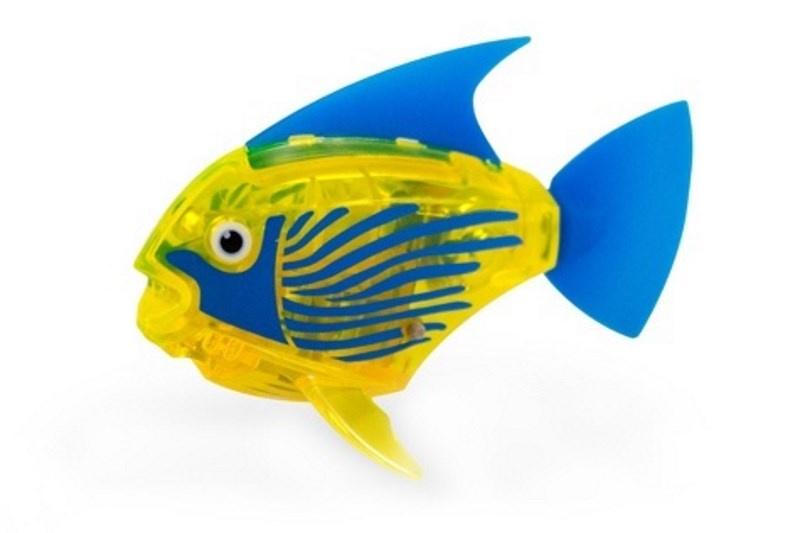 Игрушка для ванной Hexbug Тропическая рыбка 460-3591 желтый