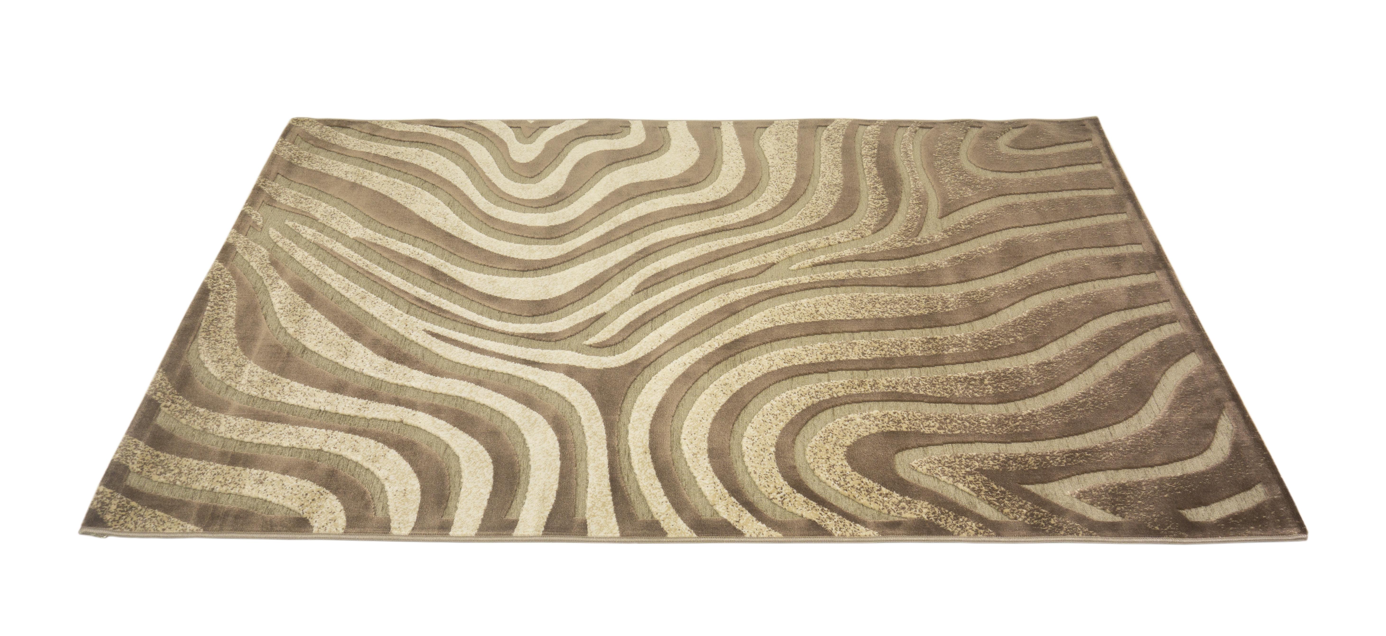 Ковер MADONNA 1,5х2,30/прямоугольник/80001А/беж-коричневый4690317094913Ковер интерьерный