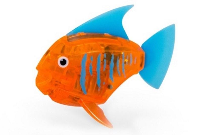 Игрушка для ванной Hexbug Тропическая рыбка 460-3591 оранжевый