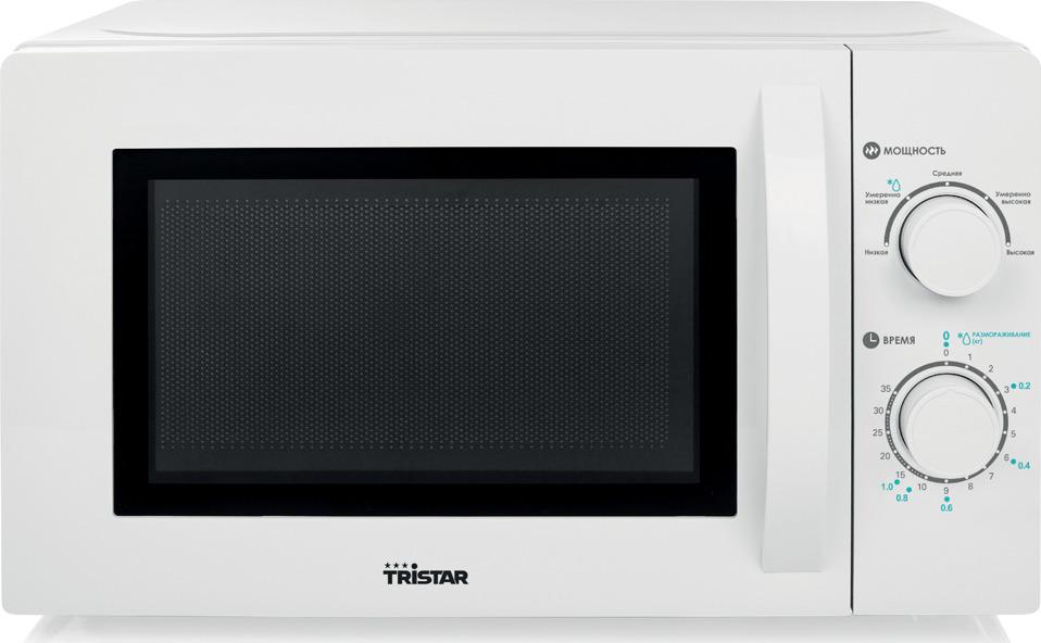 Микроволновая печь Tristar MW-3401, белый электроплитка tristar kp 6245 белый