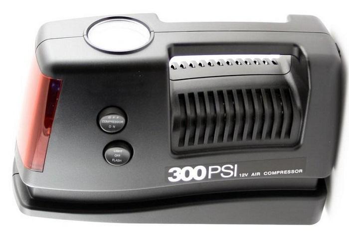 Автомобильный компрессор AUTOLUXE Компрессор автомобильный COIDO, черный