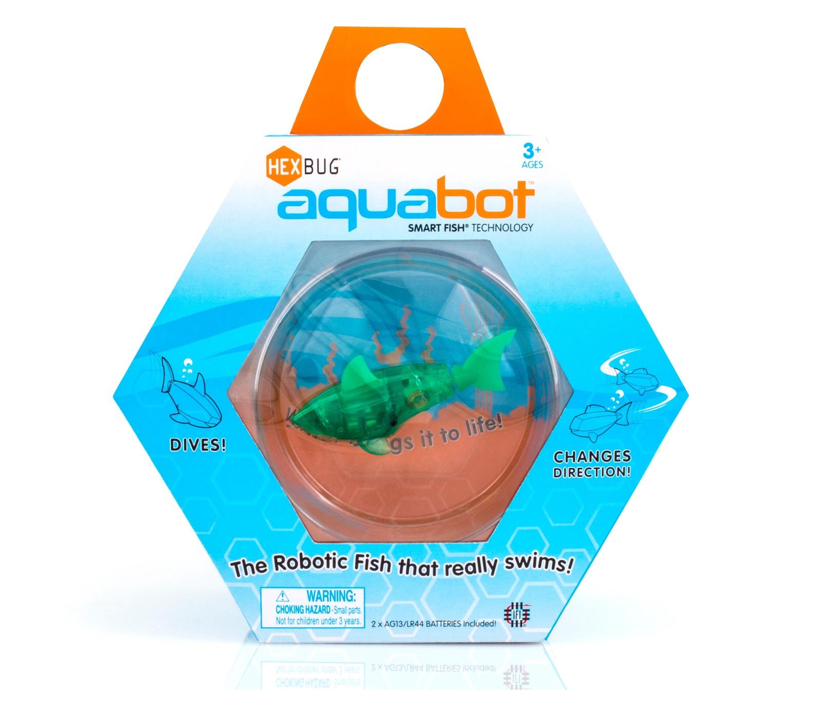"""Игровой набор HEXBUG Набор """"Рыбка-робот с аквариумом"""""""