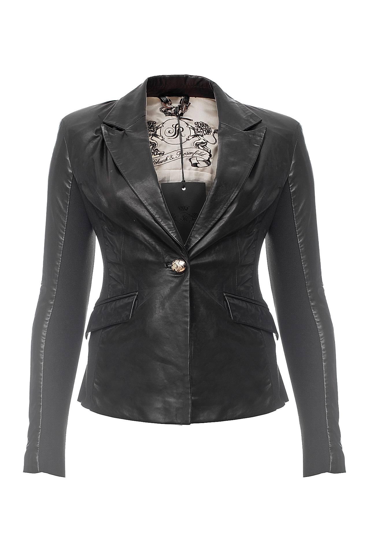 Пиджак ROSENFELD купить кожаный пиджак