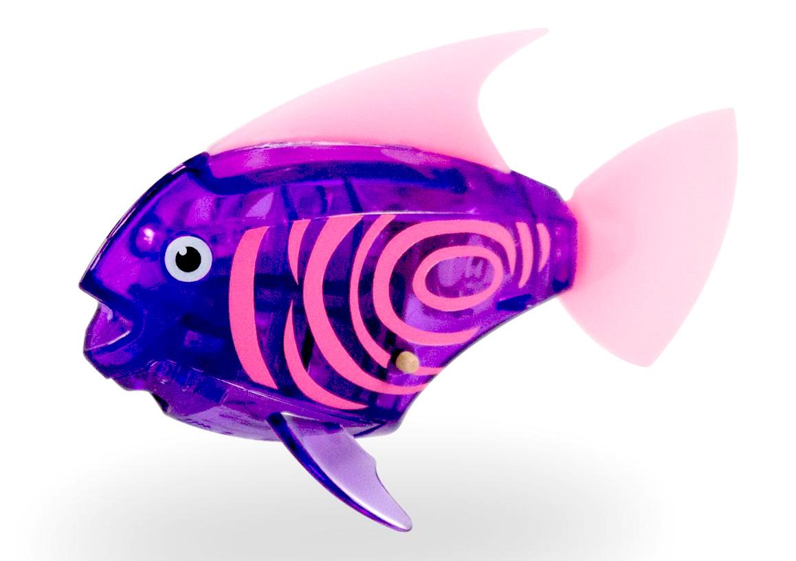 Игрушка для ванной Hexbug Тропическая рыбка 460-3591 фиолетовый
