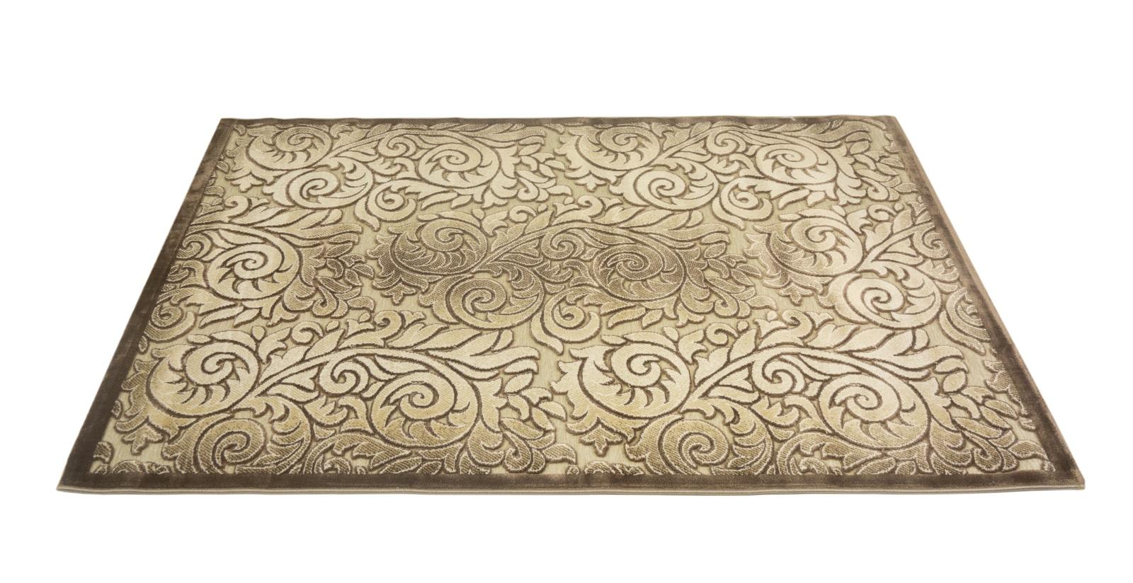 лучшая цена Ковер MADONNA 1,15х1,8/прямоугольник/80018А/беж-коричневый