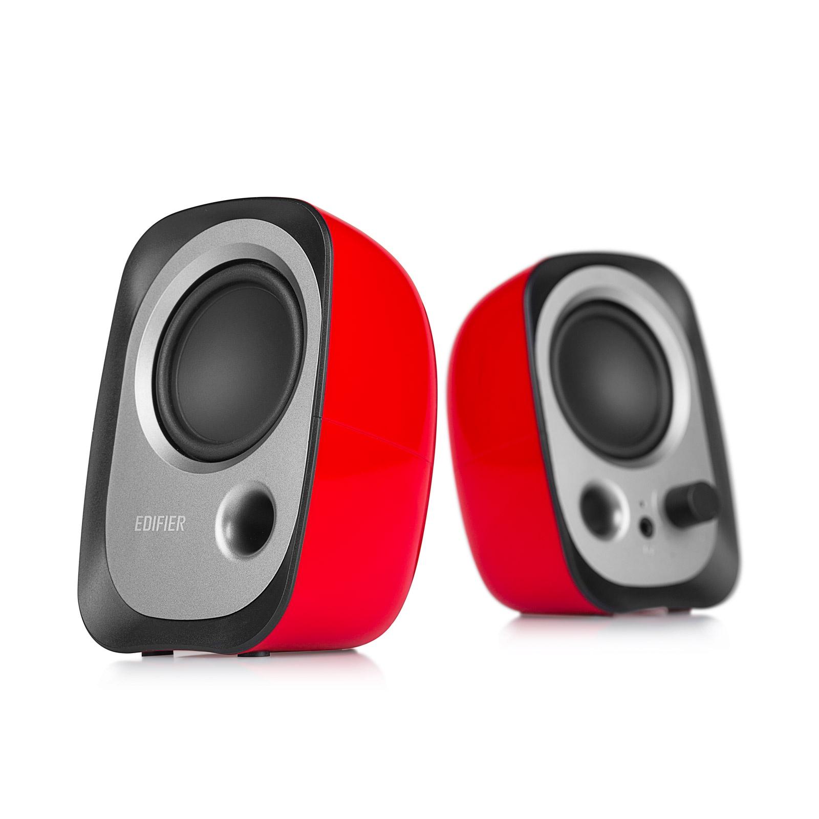 Компьютерная акустика Edifier R12U-Red, красный компьютерная акустика edifier c2xd black