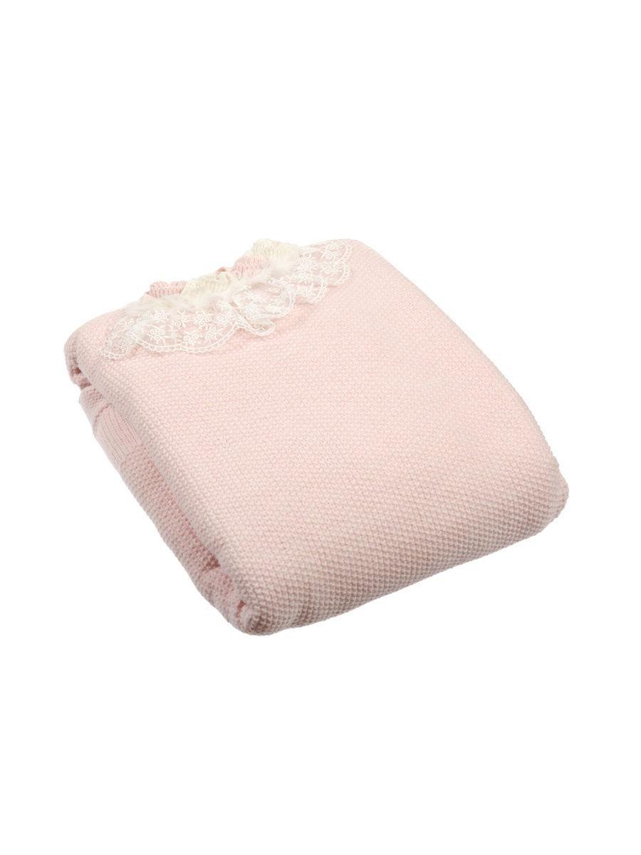 Одеяло детское Nipperland для детей до 2х лет 6437, светло-розовый