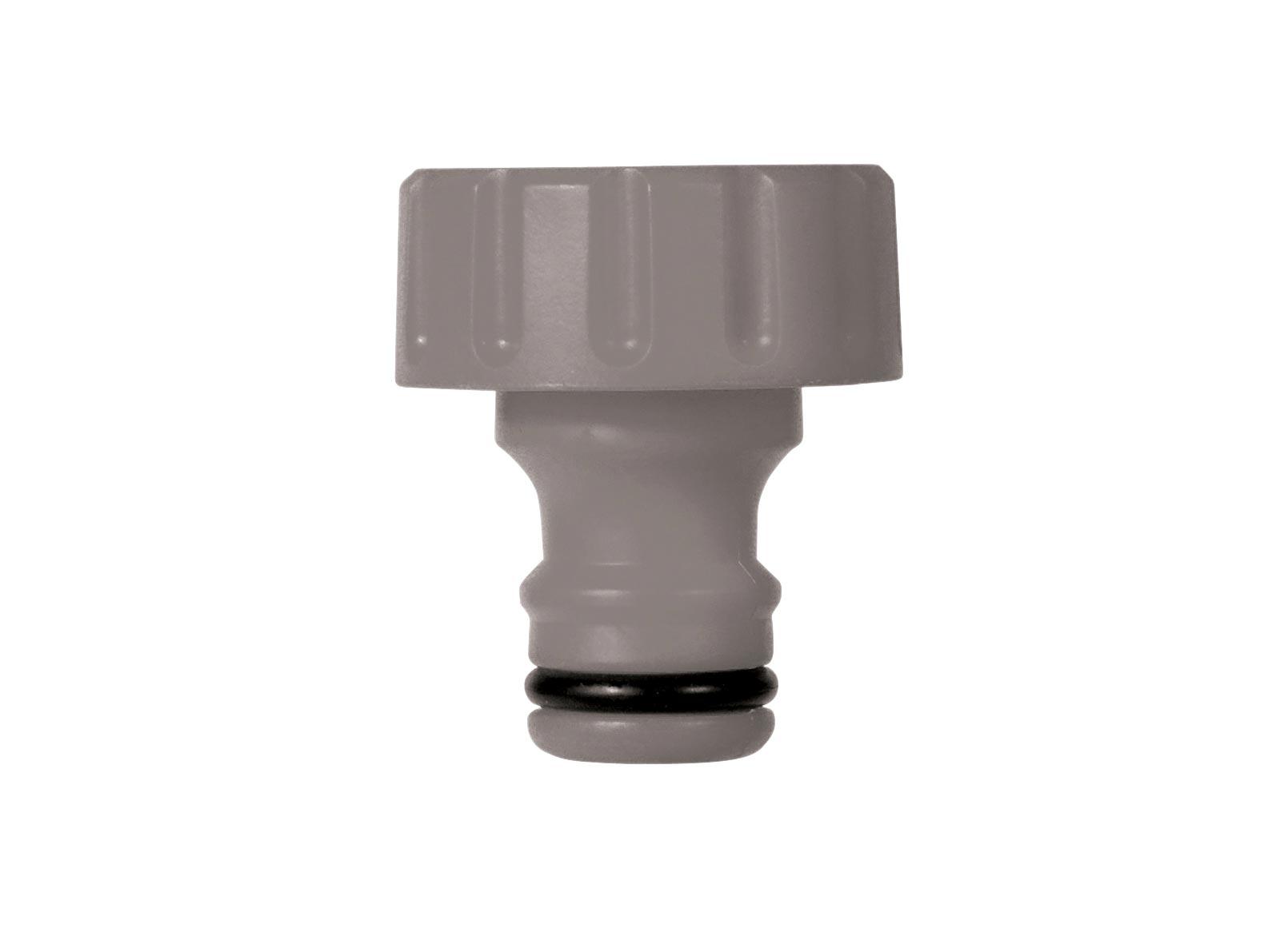 Фитинг Hozelock 2169 коннектор-адаптер для катушки, 1, серый2169P3600Коннектор-адаптер HoZelock 2169 предназначен для подключения катушки к шлангу. Изготовлен из высококачественного пластика для максимальной прочности. Резьбовое соединение облегчает герметичную установку коннектора.