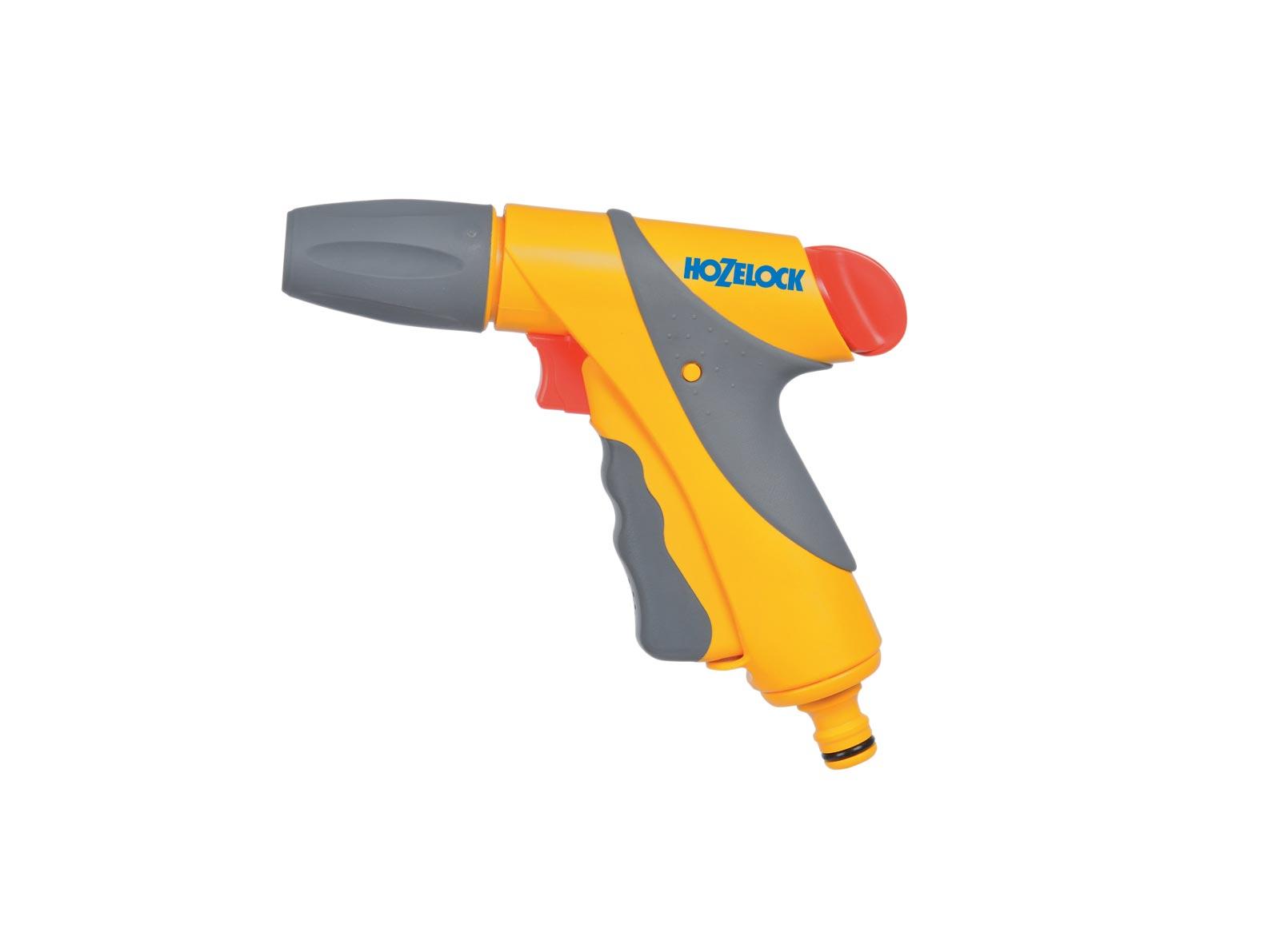 """Пистолет для полива Hozelock """"Jet Spray"""" Plus 2682, 3 режима, желтый, серый, красный"""