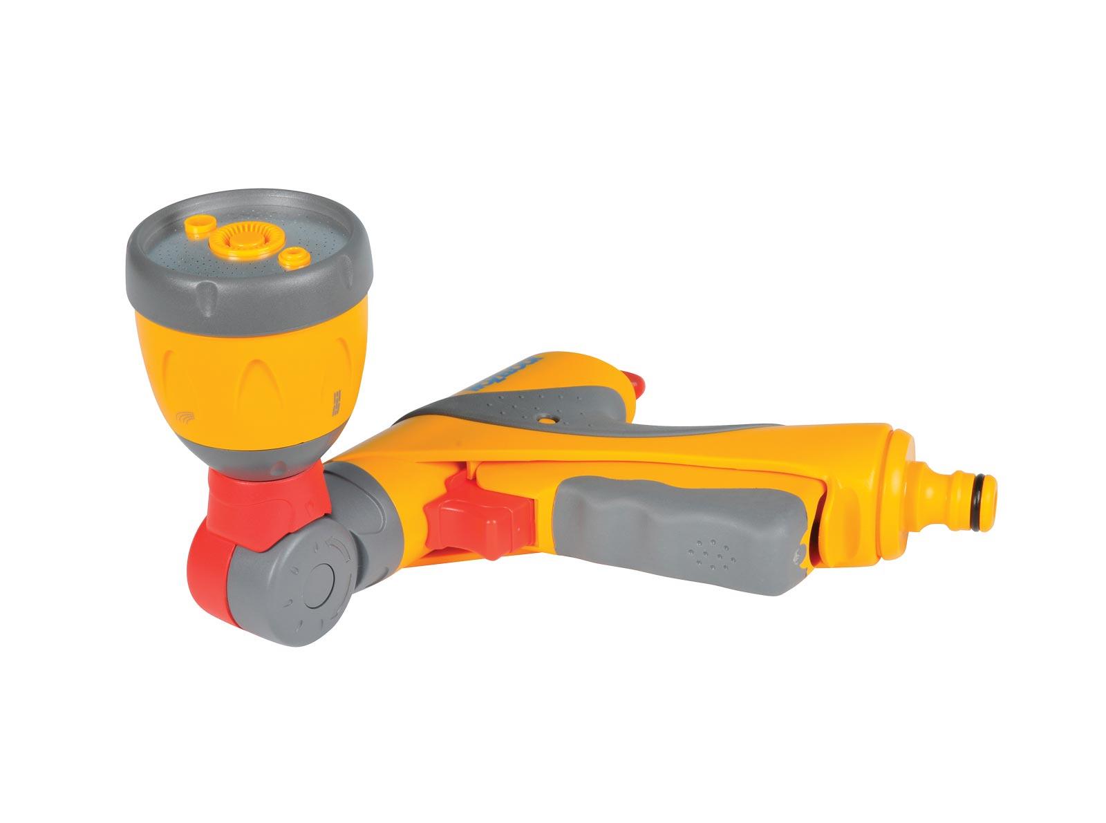 """Пистолет для полива Hozelock """"Ultra Twist"""" Plus 2695, 3 режима, желтый, серый, красный"""