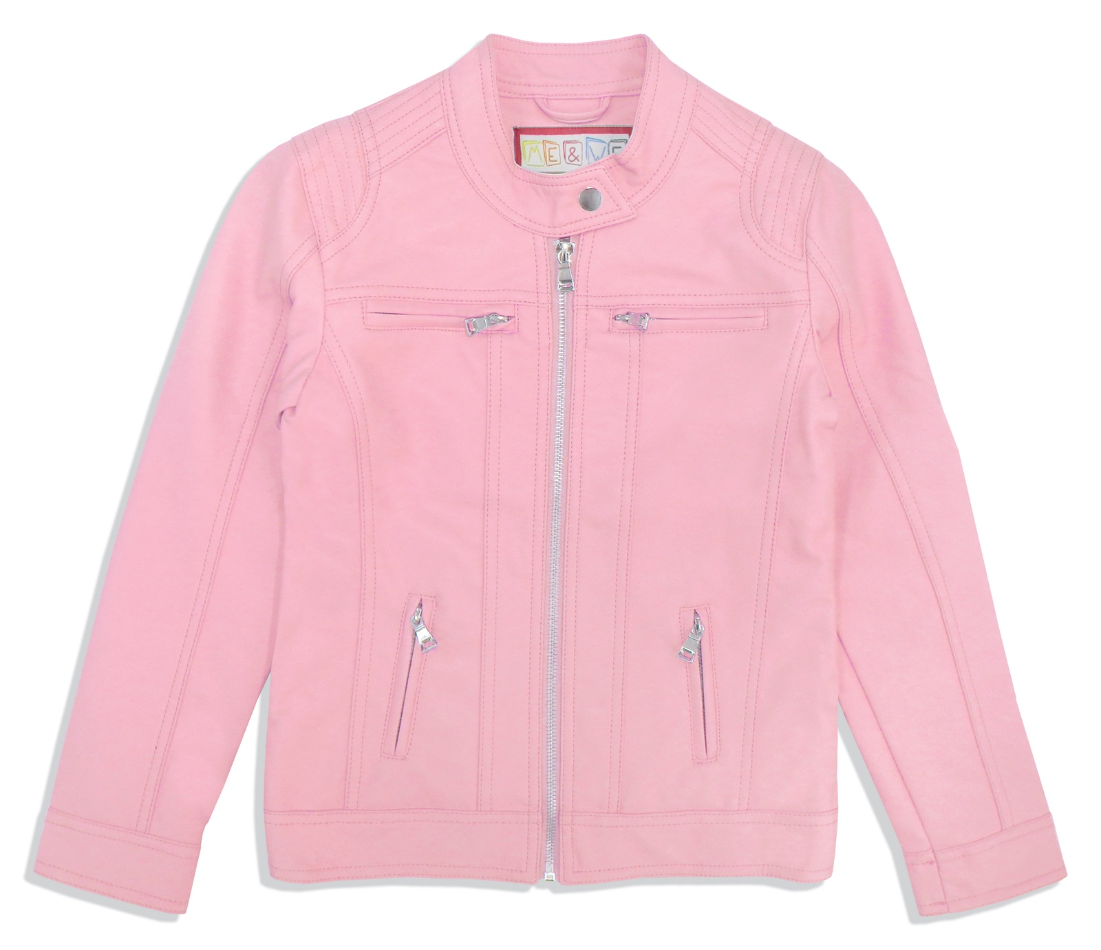 Фото - Куртка Me&We джемпер для девочки acoola pansy цвет светло розовый 20220310076 3400 размер 128