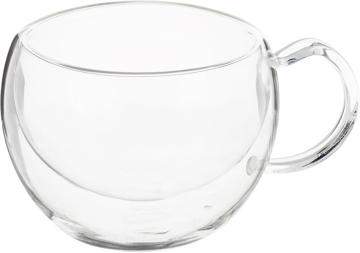 Фото - Термокружка Gutenberg Лилия, 003856, прозрачный, 260 мл чашка чайная gutenberg цветение сливы мейхуа 200009 разноцветный 100 мл