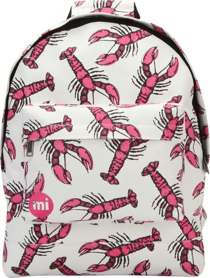 цена Рюкзак Mi-Pac Lobsters, 740314-052, белый в интернет-магазинах