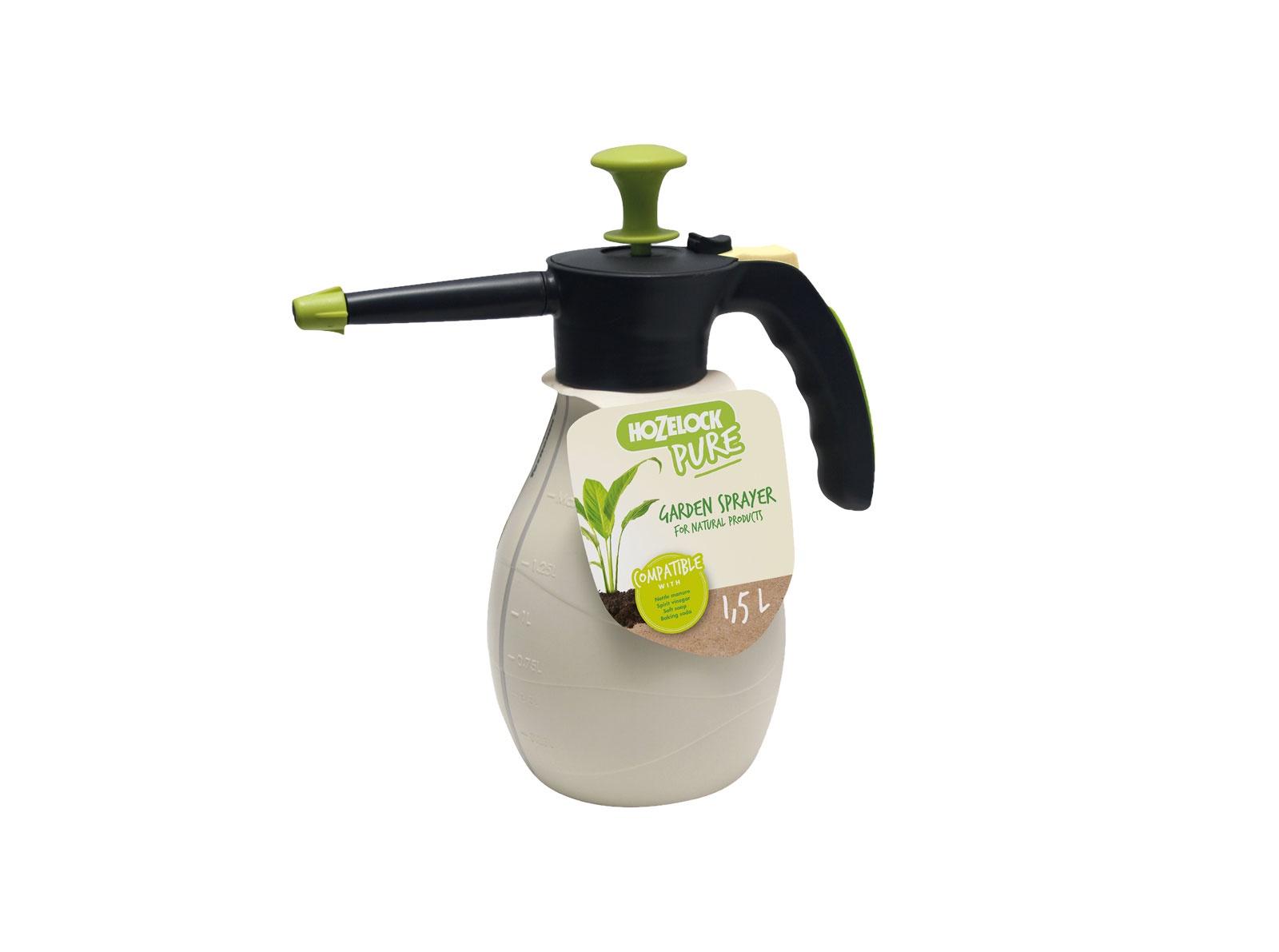 """Опрыскиватель садовый Hozelock """"Pure"""" 4200 напорный, 2 л, белый, черный, светло-зеленый"""