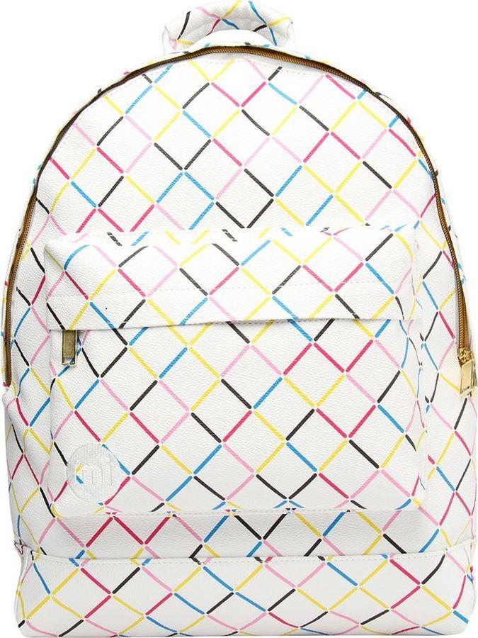 цена Рюкзак Mi-Pac Crisscross, 740360-051, белый в интернет-магазинах