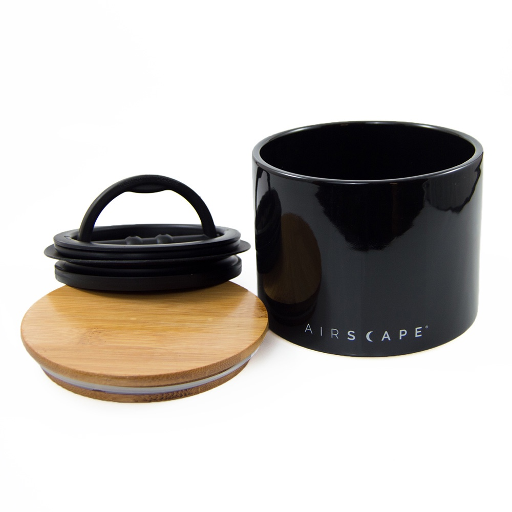 Контейнер вакуумный для пищи Planetary Design Airscape®AC0204, черный planetary