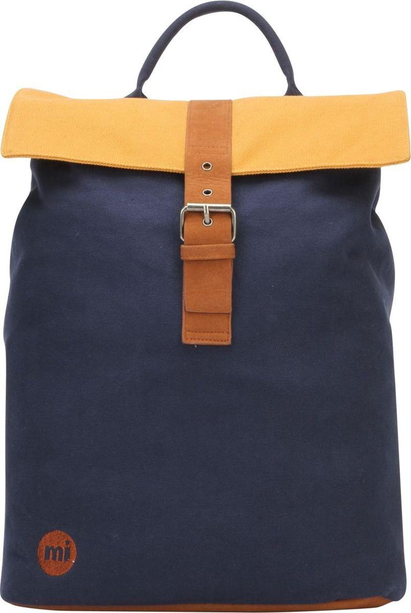 Рюкзак Mi-Pac Day Pack Tonal Canvas, 740530-011, синий рюкзак mi pac mini nordic navy 011