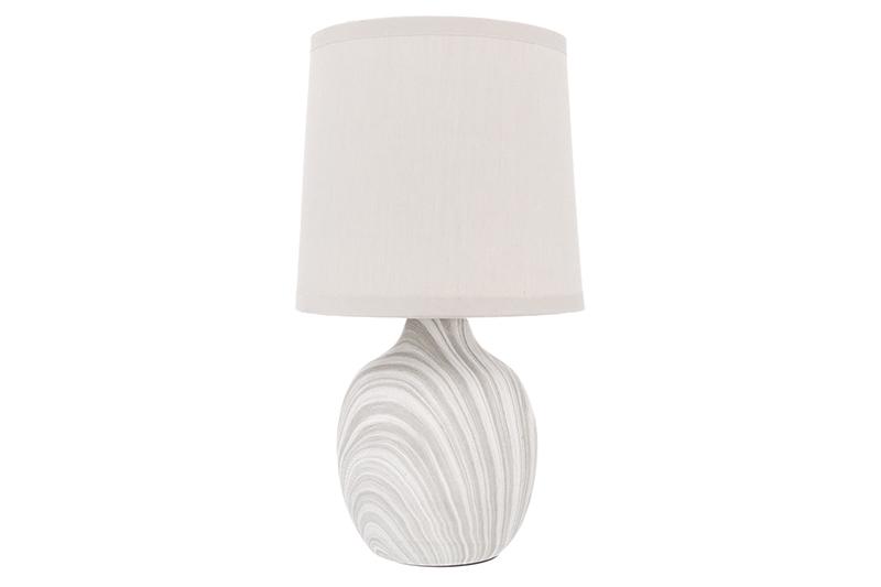 купить Настольный светильник Elan Gallery Мраморная, бежевый, серый по цене 1474 рублей