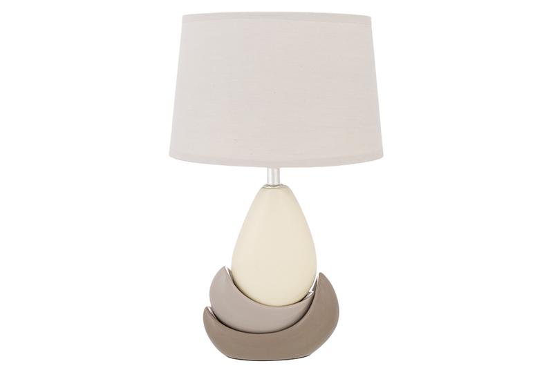 купить Настольный светильник Elan Gallery Бархан, светло-коричневый, бежевый, серый по цене 2365 рублей