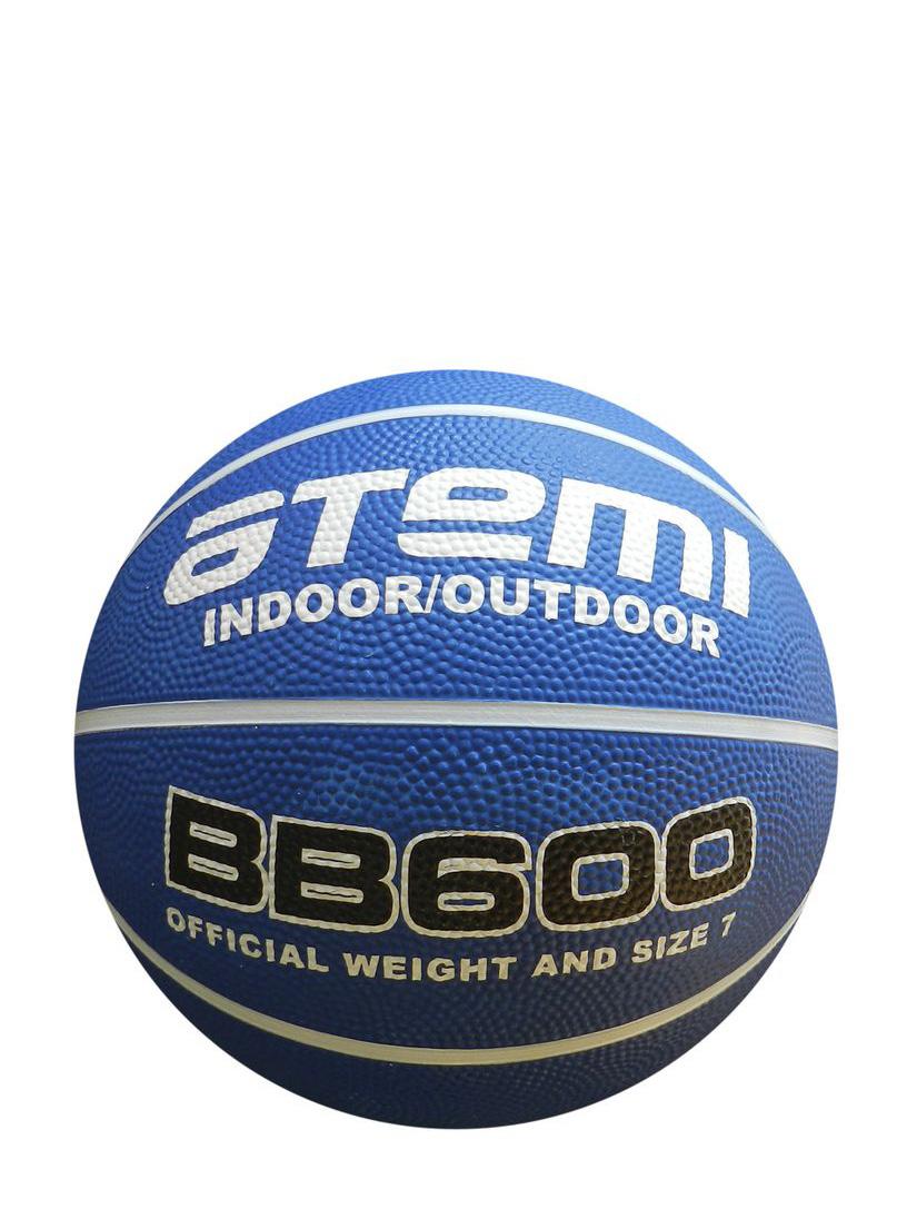 Мяч баскетбольный Atemi BB600, белый, синий мяч баскетбольный atemi bb400 7