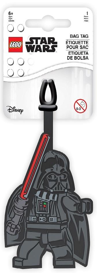 """Бирка на чемодан LEGO Star Wars (Звёздные Войны), черный52233Силиконовая бирка надежно крепится к багажу с помощью петли. Яркий и неповторимый дизайн сразу же привлечет внимание, и вы легко отыщете свой чемодан на транспортной ленте. Запишите свои контактные данные на обратной стороне бирки и можете не бояться, что ваш чемодан потеряется, ведь теперь работники аэропорта точно будут знать его хозяина. Маркировка: Бирка для багажа Товар предназначен для детей см. пиктограмму на упаковке. ВНИМАНИЕ! Содержит мелкие детали, не использовать детям до 3-х лет. Материал: силикон. Товар не подлежит сертификации. Дата изготовления: ноябрь 2018. Срок годности – неограничен. Срок службы: 5 лет с момента ввода в эксплуатацию. Страна происхождения: Китай. Уход: Избегать перегрева и попадания солнечных лучей. Протирать поверхность влажной салфеткой. Фирма-изготовитель: """"IQ Hong Kong Ltd."""" (Ай Кью Гонконг Лтд.). Flat A,15/F Waylee Industrial Centre, 30-38 Tsuen King Circuit, Tsuen Wan, N.T., Hong Kong (Флэт А, 15/Ф Ваулее Индустриал Центр, 30-38 Тсуен Кинг Серкит, Тсуен Ван, N.T., Гонконг) по лицензии LEGO ® Group. Завод-филиал изготовителя: """"LUCKY GOLDJYX CO., LTD"""" (Лаки Голджикс Ко., Лтд.) NO.331-2? Huannan Road, Wusha village, Changan Town, Dongguan City, Guangdong, China (№331-2 Хуаннан роуд, Вуша виллидж, Чанган, Дунгуань, Гуангдонг, Китай). Поставщик-импортер и уполномоченная организация по претензиям к изготовителю от потребителей по качеству продукции: ООО «Детское Время», 143433, Россия, Московская область, Красногорский район, пос. Нахабино, ..."""