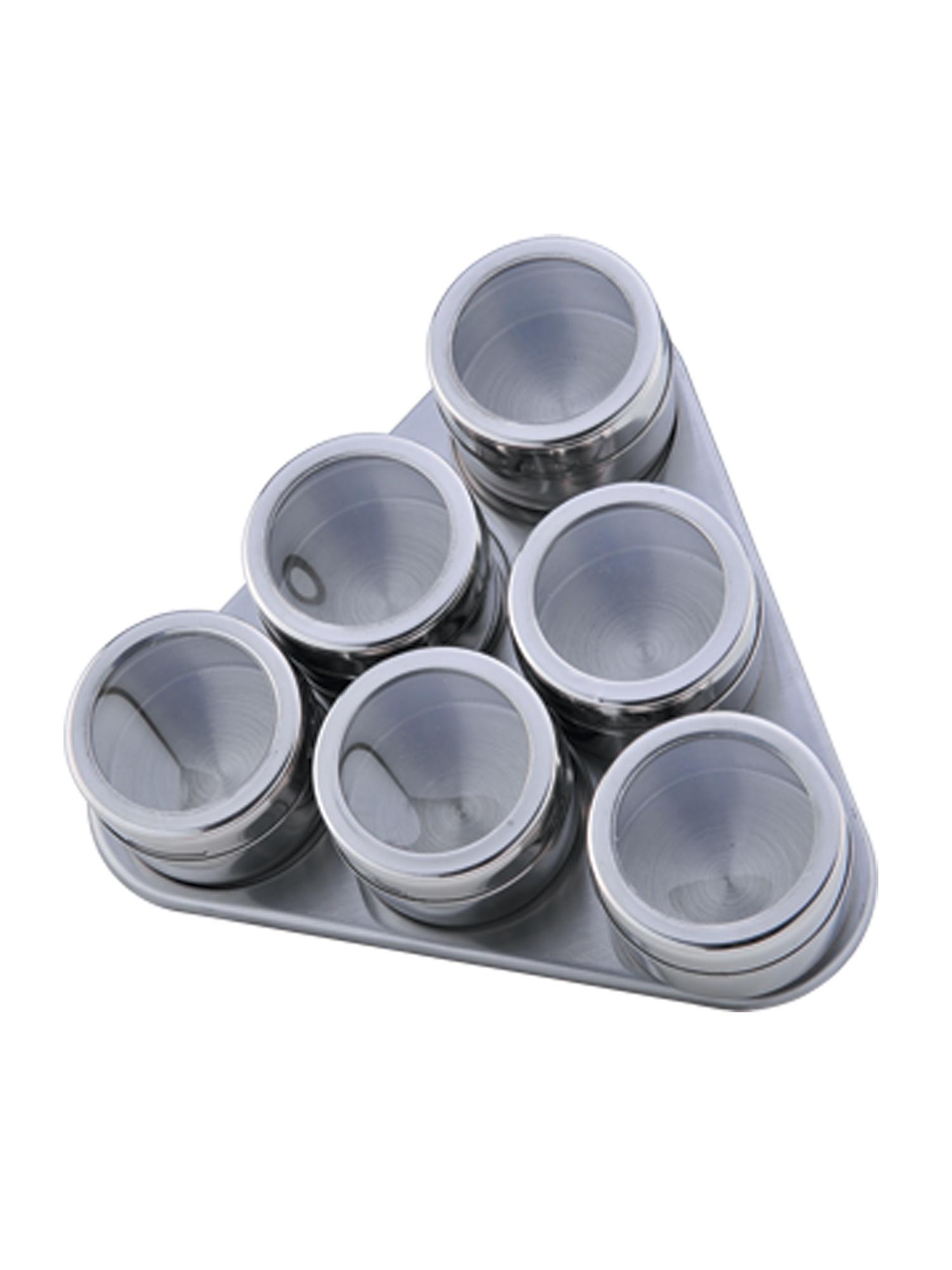 Набор для специй BOHMANN 7815BH, серебристый набор емкостей для специй gipfel icum 5 предметов
