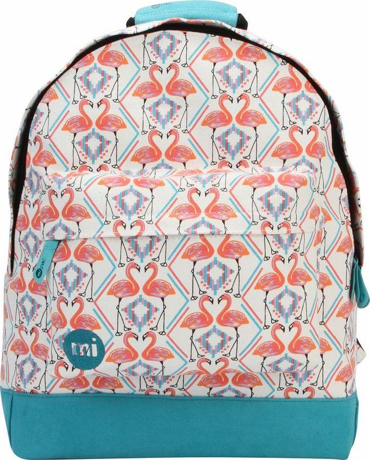 цена Рюкзак Mi-Pac Flamingos, 740314-053, белый в интернет-магазинах