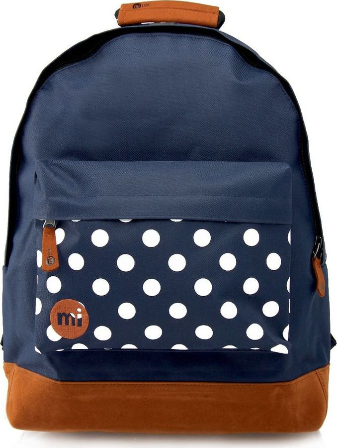 Рюкзак Mi-Pac Polka, 740200-011, синий рюкзак mi pac mini nordic navy 011